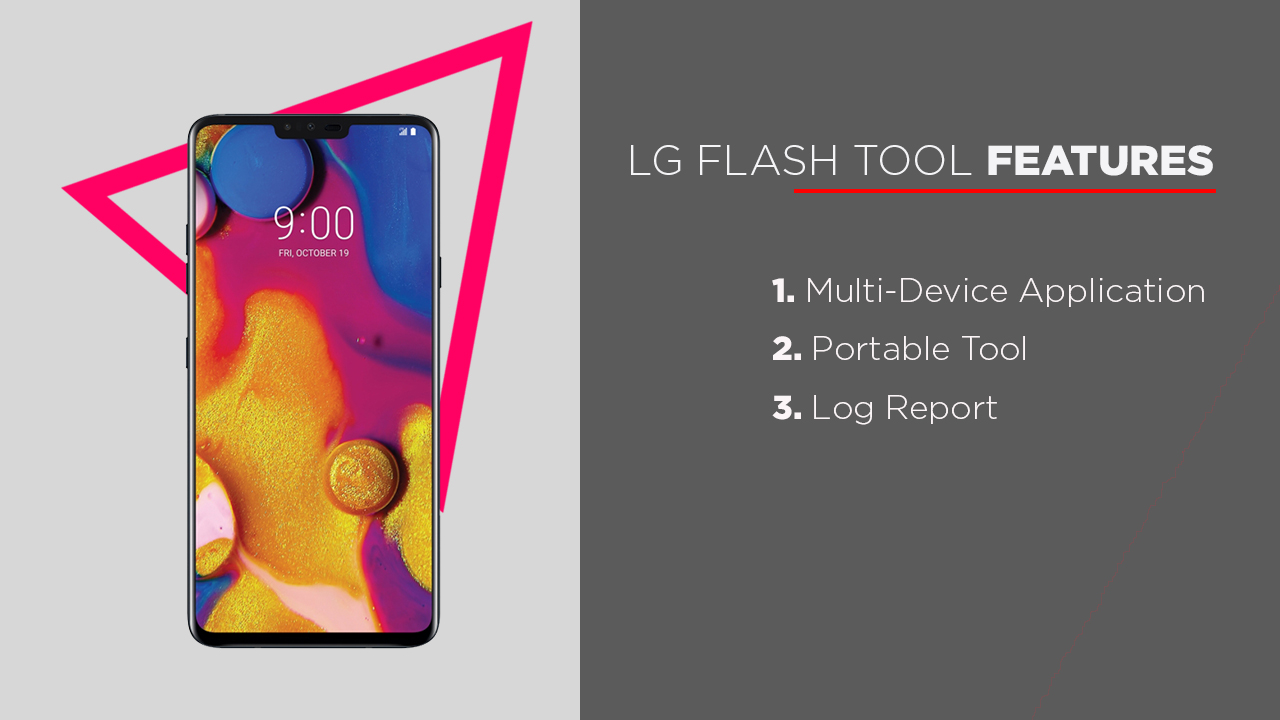 LG Flash Tool Features