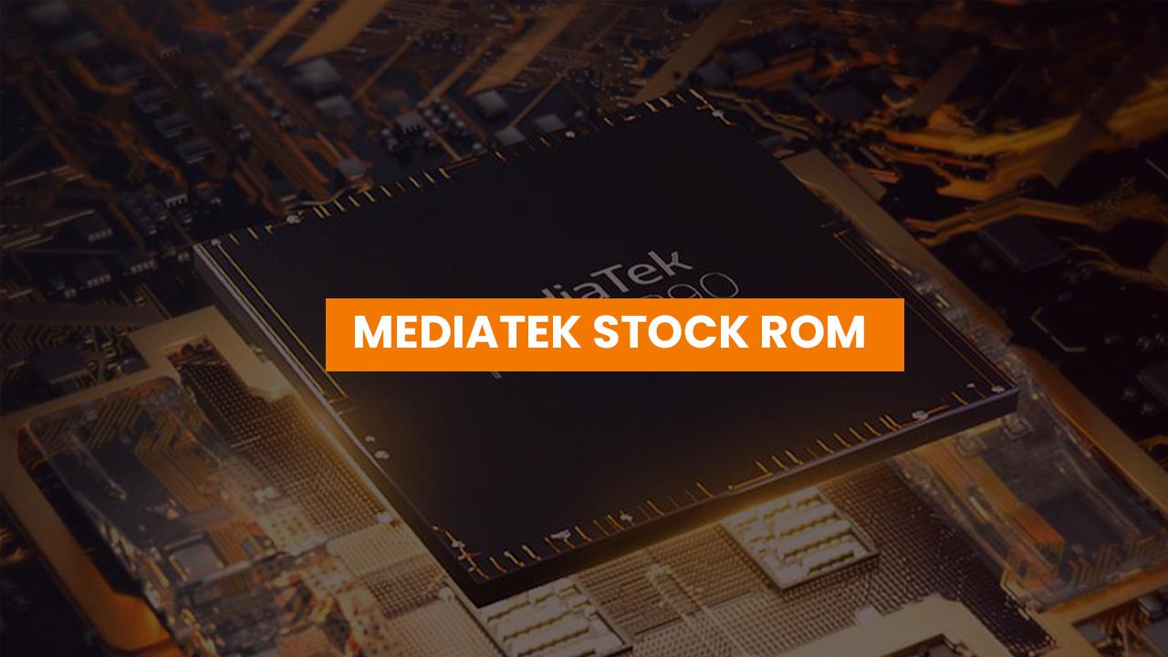 Install MediaTek Stock ROMs using SP Flash Tool