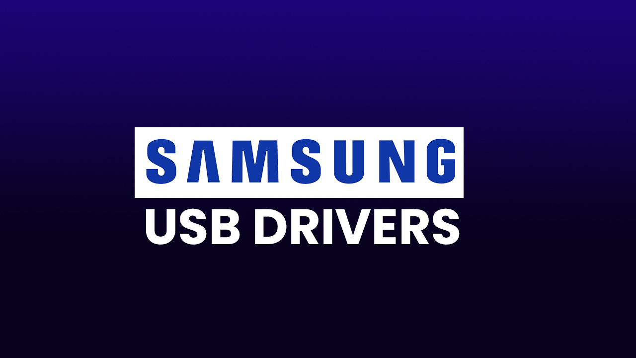 Samsung USB Driver for Mobile Phones (v1.5.63.0)