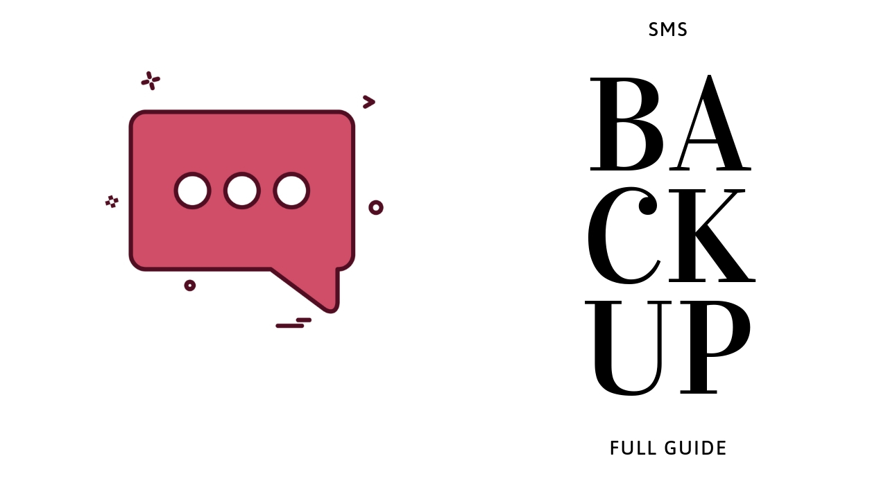Back Up Your SMS/Text Messages