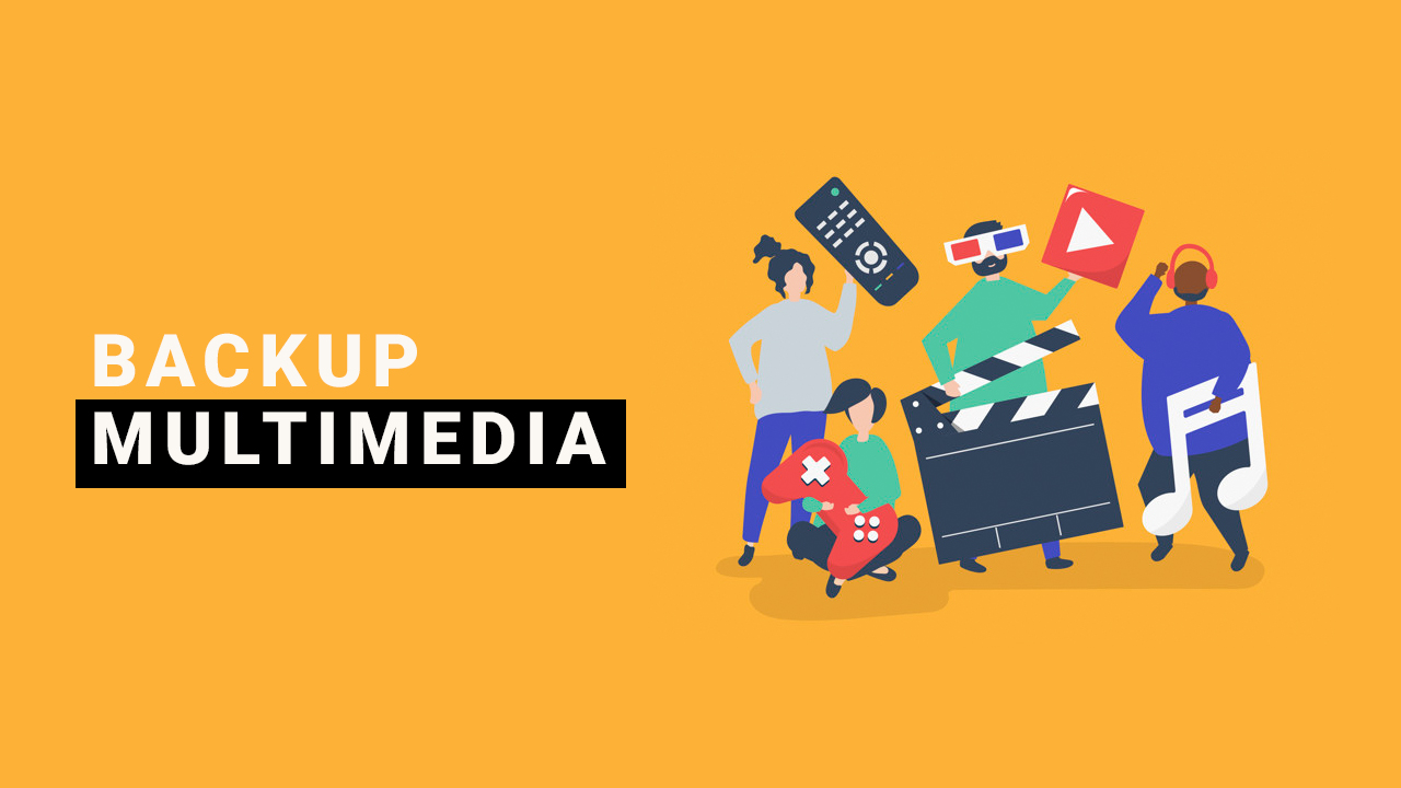 backup multimedia
