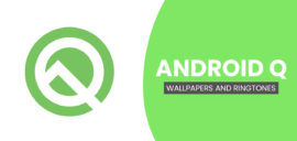 Android Q Stock Wallpapers and Ringtones