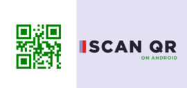 scan QR codes in an Android phone