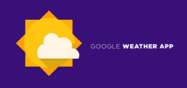 get the Google Weather widget on Android Home Screen