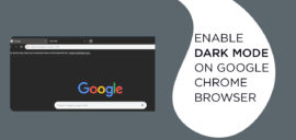 enable Dark Mode on Google Chrome Browser