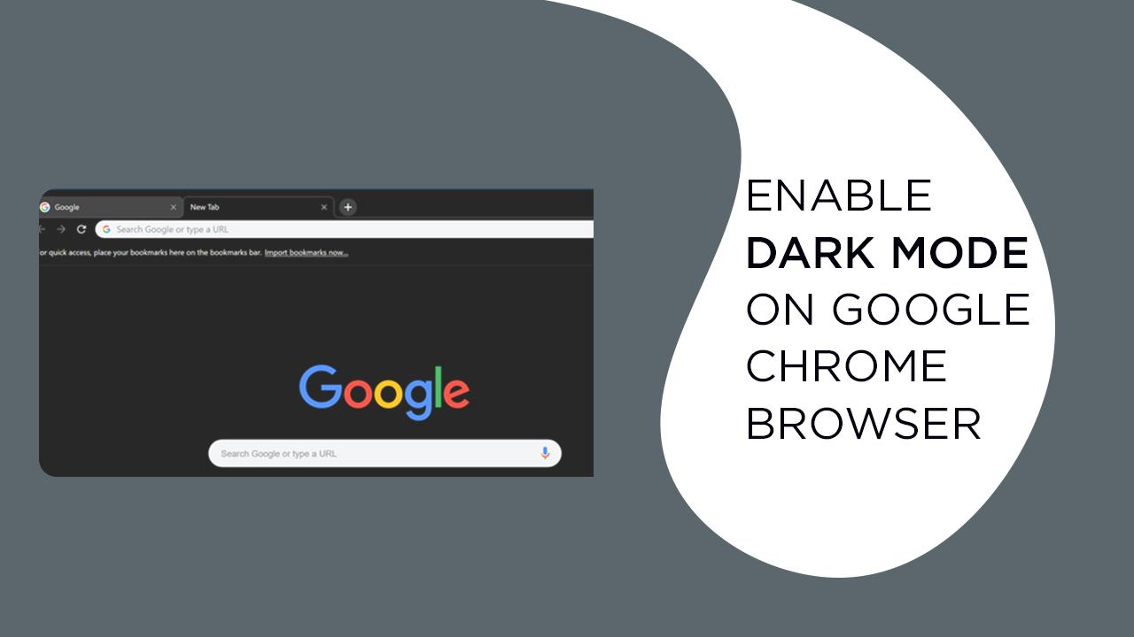 enable Dark Mode on Google Chrome Browser