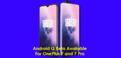 Android Q beta for OnePlus 7 series is live now