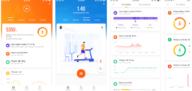 Mi-Fit v4.0 Update Released with new card style interface and improved stats