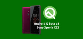 How to install Android Q Beta on Sony Xperia XZ3 (Developer Preview 3)