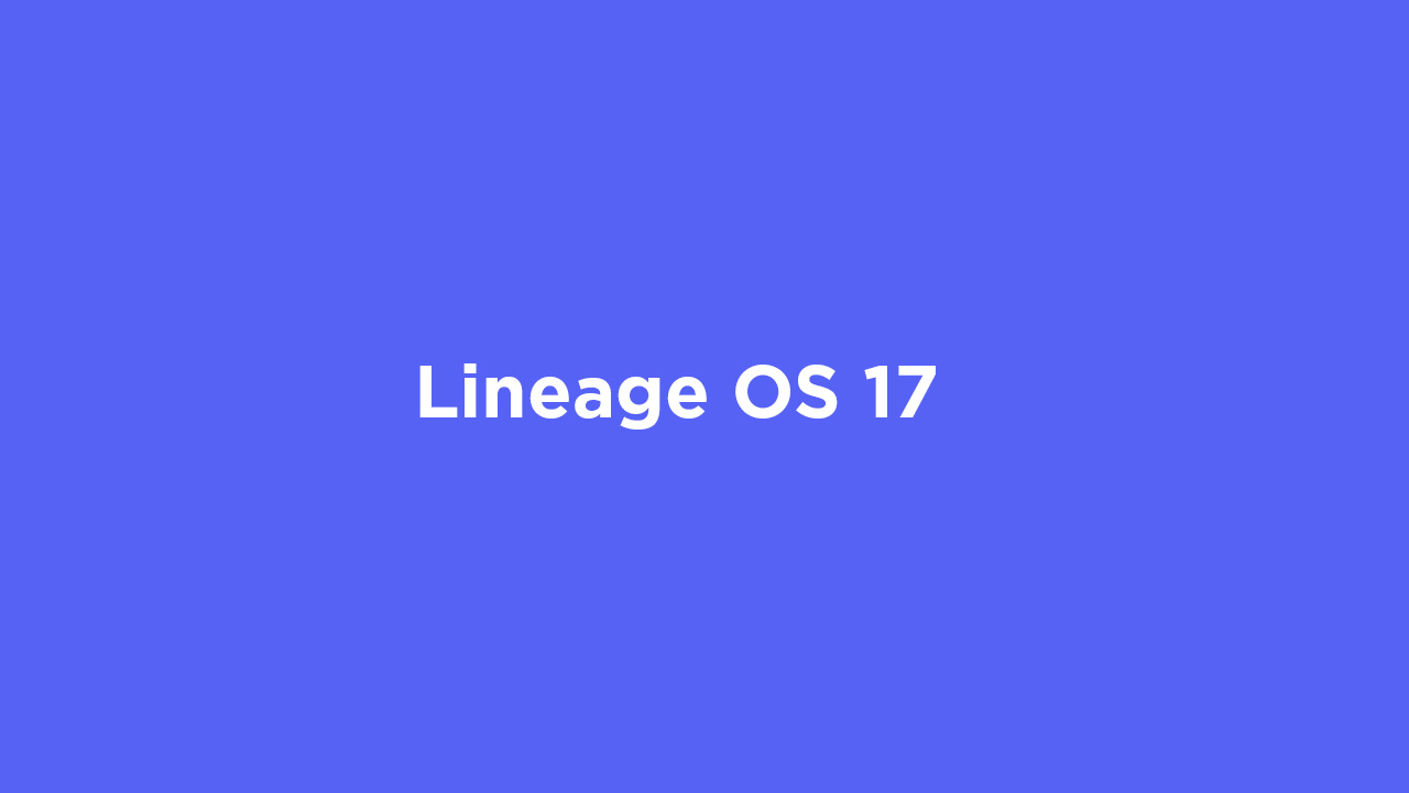 Lineage OS 17 for OnePlus 5T (Android 10)